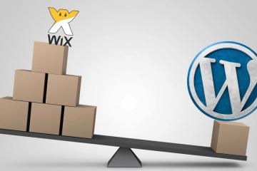 מצא את ההבדלים בין אתר wix לאתר wordpress